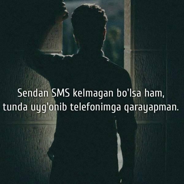 Sendan SMS kelmagan...